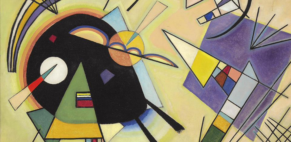 Wassily Kandinsky Black and Violet - Christie's