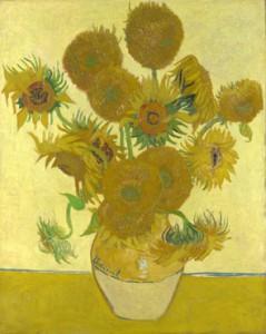 National Gallery, Vincent van Gogh. Sunflowers