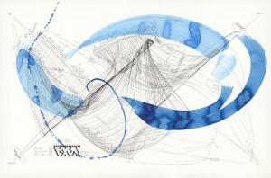 Jorinde Voigt, Ludwig van Beethoven_ Sonate Nr. 28 (Opus 101), # 3. Image courtesy David Nolan Gallery