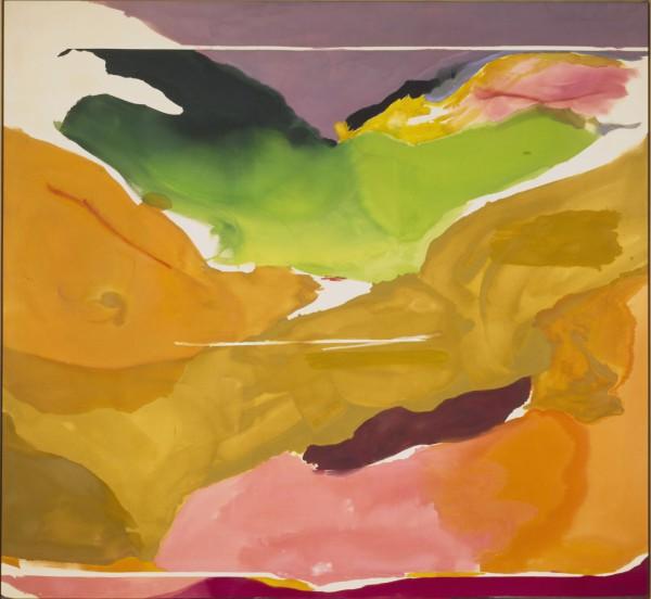 Helen Frankenthaler, Nature Abhors a Vacuum, 1973. Patrons' Permanent Fund and Gift of Audrey and David Mirvish, Toronto, Canada. National Gallery of Art, Washington DC