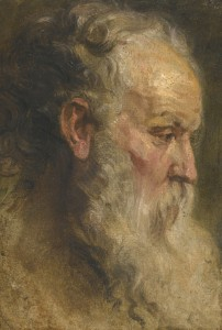 Sir Anthony van Dyck - Head Study of a Bearded Man