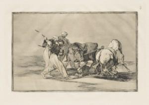 Francisco de Goya y Lucientes La Tauromaquia