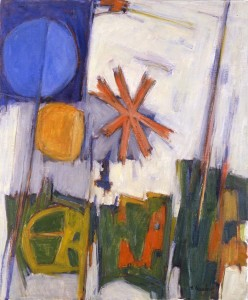 Hale Woodruff, Sun, Moon, Star, Courtesy Michael Rosenfeld Gallery