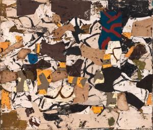 Conrad Marca-Relli 'L-R-8-57. Image courtesy of Hackett Mill Gallery