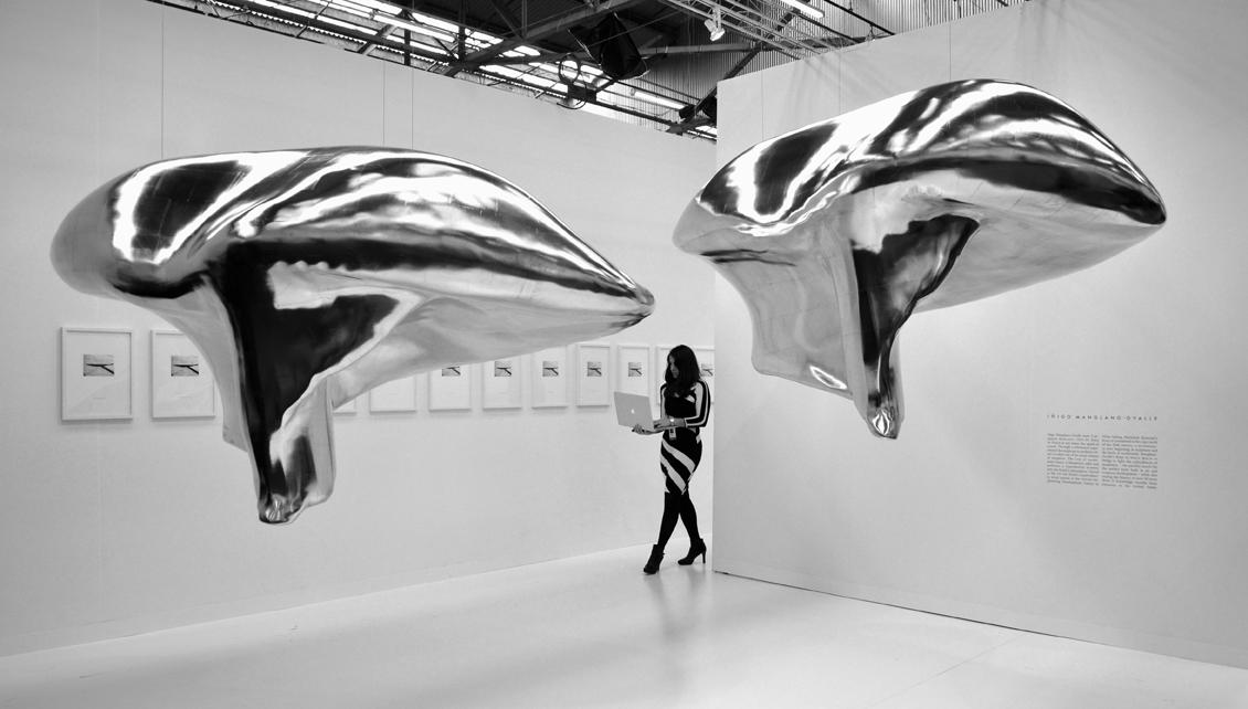 Iñigo Manglano-Ovalle at The Armory Show 2014, Photo © galleryIntell 2014
