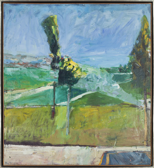 Richard Diebenkorn Landscape with Smoke, 1960 John Berggruen Gallery