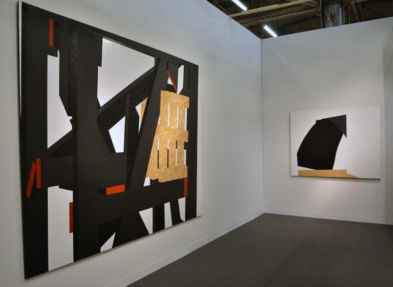 Serge Alain Nitegeka at Marianne Boesky gallery. Artwork © Serge Alain Nitegeka, Photo © galleryIntell 2014