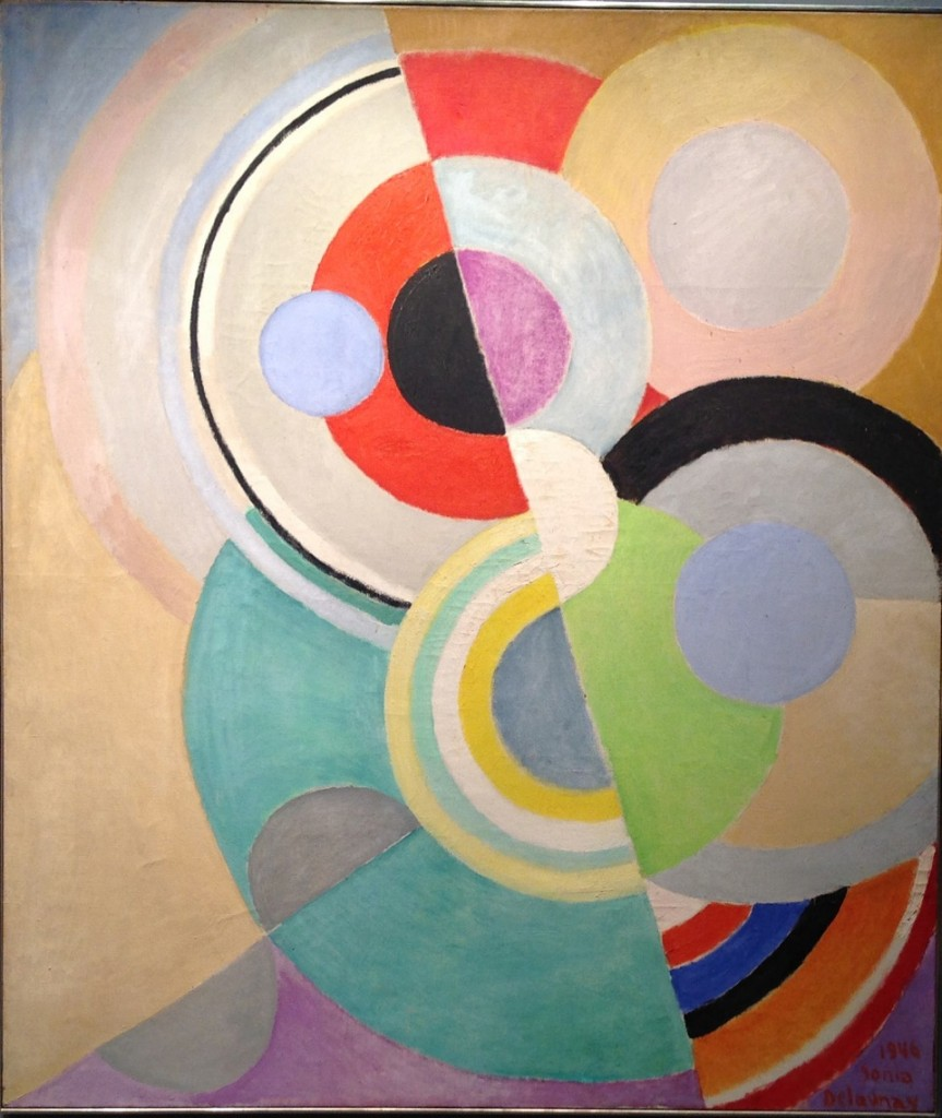 Sonia Delaunay, Rhythme Colore, 1946. Oil on canvas
