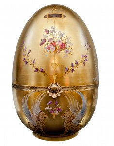 ISABELLE ARPAGIAN, Empress II, 2014 Faberge Egg Hunt NY