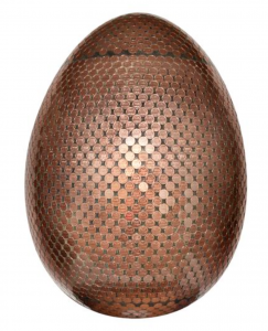 JANE MORGAN, The Golden Lincoln Cent Egg, Faberge Egg Hunt NY
