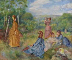 Auguste Renoir - Jeunes Filles Jouant au Volant