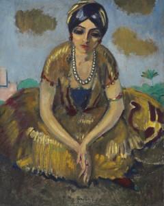 Kees van Dongen, Egyptienne au Collier de Perles