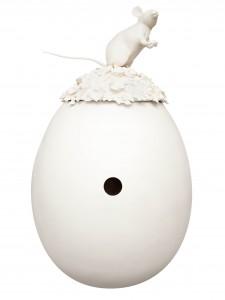 RACHEL LEE HOVNANIAN, Leila Heller Gallery, Narcissus Egg, 2014 Faberge Egg Hunt NY