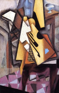 Juan Gris, Guitar on a Chair, 1913
