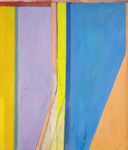 Richard Diebenkorn, Ocean Park #20, 1969. Image courtesy Sotheby's, NY