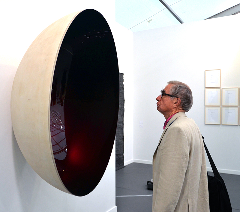 Anish Kapoor, Untitled, 2014 Lisson Gallery, Frieze New York 2014