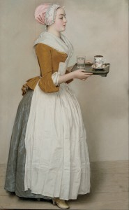 Jean-Etienne Liotard, The Chocolate Girl, Pastel on paper