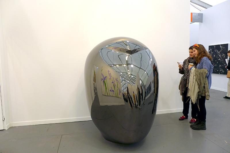 Not Vital, Head (LiGao), 2013 Galerie Thaddaeus Ropac, Austria, Frieze New York 2014