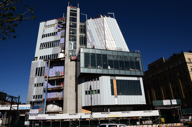The Whitney Museum, view from the West Side Highway