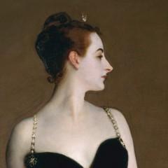 Madame Pierre Gautreau (Madame X), 1884, John Singer Sargent