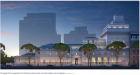 The design for the expanded Frick Collection would include a six-story addition and roof garden. Credit Neoscape Inc.