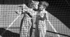 Vivian Maier, Los Angeles (Two Children Kissing at Tennis Net) 1955 Image courtesy Stephen Bulger Gallery © Vivian Maier