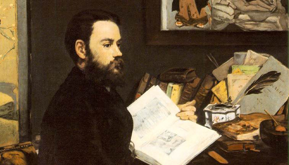 Edouard Manet, Portrait of Zola