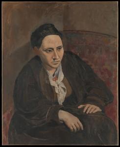 Pablo Picasso - Portrait of Gertrude Stein, 1905