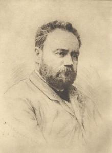 Edouard Manet, 'Portrait of Emile Zola'