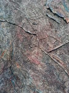 Detail of Peter Sacks' Aftermath at Robert Miller Gallery. Photo © Kristina Nazarevskaia