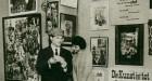 Hannah Hoech and Raoul Hausmann at First International Dada Fair, Berlin 1920