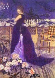 Henri-Edmond Cross, Madame Hector France, 1891