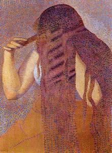 Henri-Edmond Cross, Hair, 1892