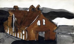 George Nama, Untitled, 1959 - 1960 Watercolor on paper © George Nama