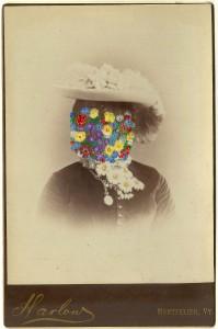 Butler, Tom 'Harlow', 2014 Gouache on Albumen print 16.5x10.5cm