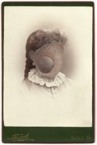 Butler, Tom 'Lettie', 2013 Gouache on Albumen print 16.5x10.5cm
