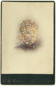 Butler, Tom 'Tucker', 2014 Gouache on Albumen print 16.5x10.5cm