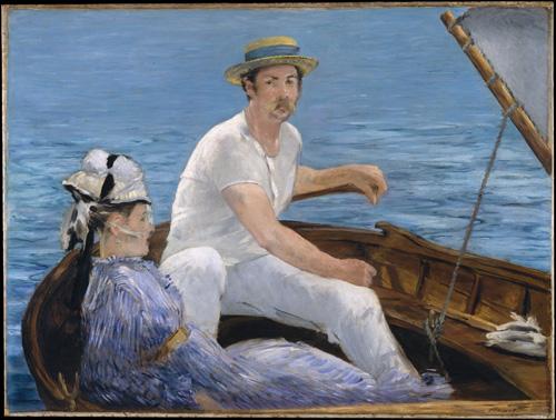 Edouard Manet, Boating, 1874