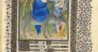 Met Museum, The Belles Heures of Jean de France, duc de Berry, Flight to Egypt
