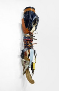 Charles McGill, Corset, 2014 Reconfigured golf bags