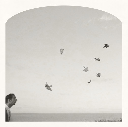 Kahn & Selesnick, Bird Thrower, Archival Inkjet print, 10х10