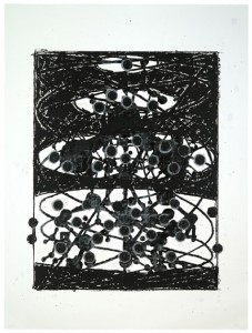 Terry Winters, Atmospheres 8. A portfolio of 12 screenprints on Lanaquarelle paper. Image: 58 1/2 x 44 inches