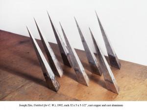 Joseph Zito, Untitled (For CW), 92. Image courtesy Lennon, Weinberg Gallery