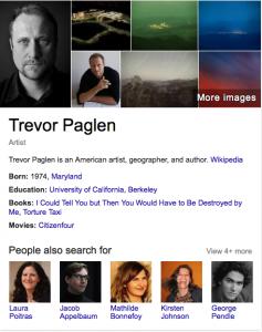 Trevor Paglen Search Result