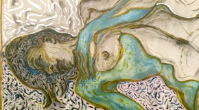 Billy Childish, Nude Reclining, Detail Lehmann Maupin