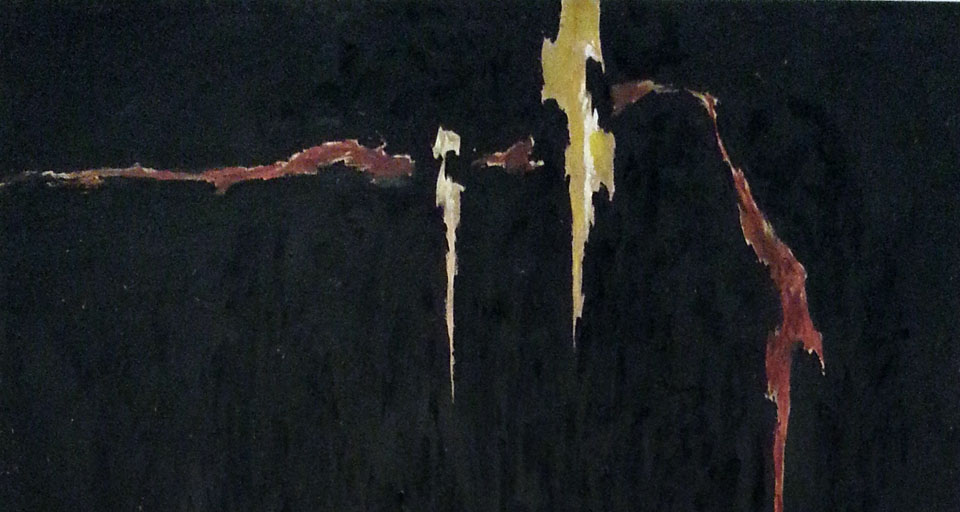 Clyfford Still, 1944-N No.2, ArtEx featured