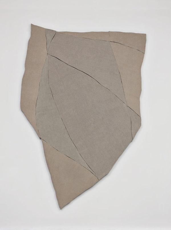 Wyatt Kahn, Untitled 2013 Linen on canvas