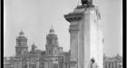 Manuel Ramos. Vista del Zocalo y la Catedral Metropolitana, ca 1925 Gelatin Print. Patricia Conde Galeria, Mexico City at The Photography Show 2016 presented by AIPAD.