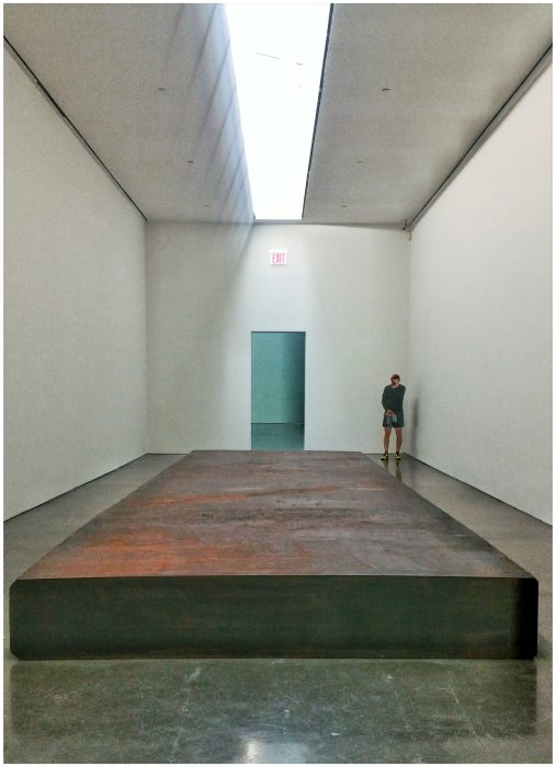 Richard Serra, Silence (For John Cage) 2015. Forged steel. Gagosian gallery, 24th street. Image © Kristina Nazarevskaia for galleryIntell