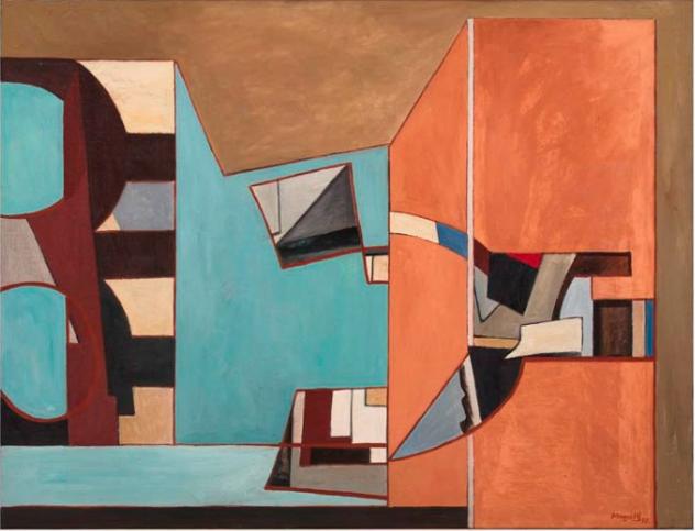 Alberto Magnelli, Peinture n. 330, 1937 Museo Novecento, Florence